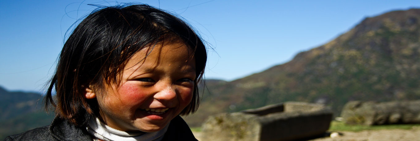 Child near Sandakphu