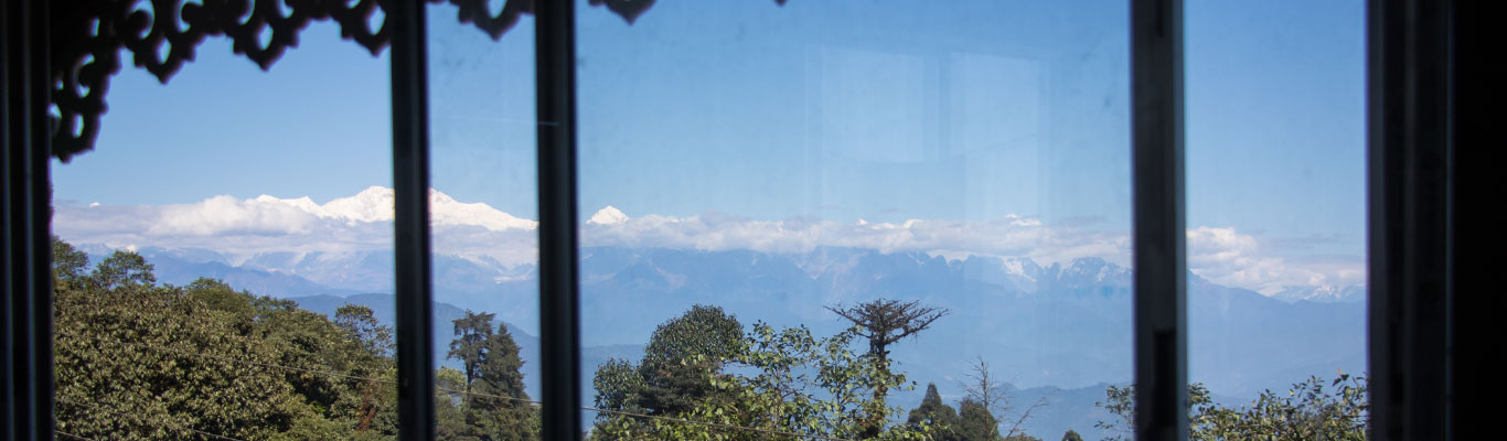 Kanchenjunga from the room