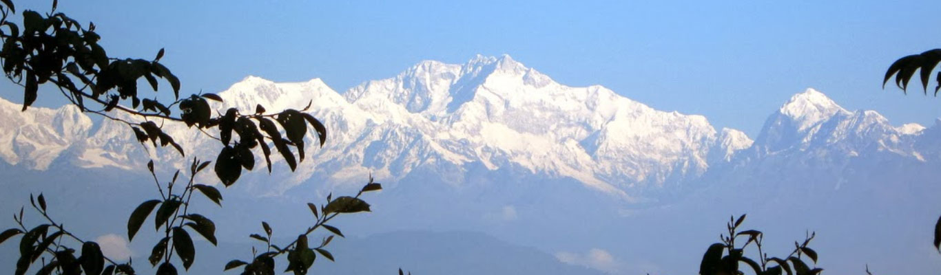 View of Kanchenjunga from Lepchajagat
