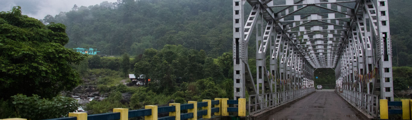 The Jogighat Bridge of Sittong